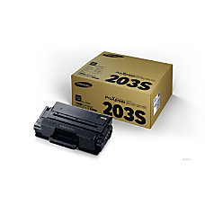 Samsung MLT D203S Black Toner Cartridge