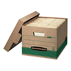 Bankers Box FastFold StorFile 100percent Recycled