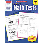 Scholastic Success With Math Tests Workbook