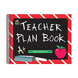 Teacher Created Resources Chalkboard Teacher Plan