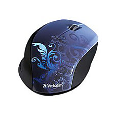 Verbatim Wireless Optical Mouse Blue