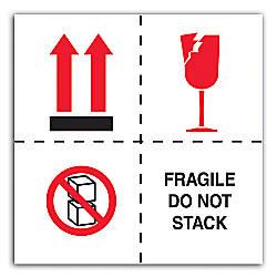Tape Logic Preprinted International Safe Handling