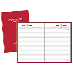AT A GLANCE Standard Diary 30percent