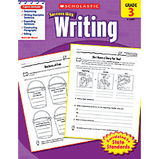 Scholastic Success With Writing Workbook Grade