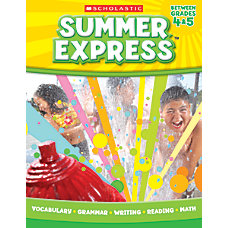 Scholastic Summer Express Grades 4 5