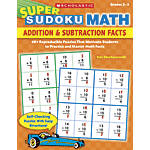 Super Sudoku Math Addition Subtraction Facts