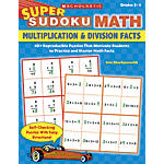 Super Sudoku Math Multiplication Division Facts