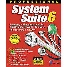 System Suite 6 Professional Traditional Disc