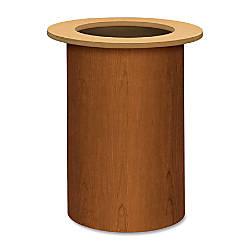 HON Preside Cylinder Table Base Bourbon