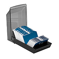 Rolodex Covered VIP Card File 4