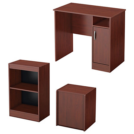south shore furniture axess 3 piece office in a box 30 14