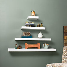 Southern Enterprises Chicago Floating Shelf 10