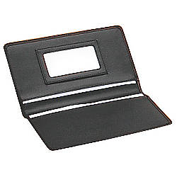 Franklincovey leather business card case 7 45 x 4 710 for Franklin covey business card holder