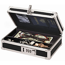 Vaultz Mini Cash Box Black