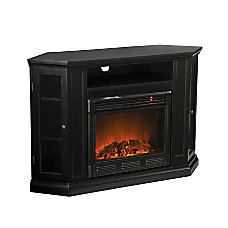SEI Claremont Electric Fireplace Media Console