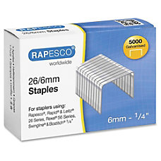 Rapesco 266mm Galvanized Staples 266mm 5000
