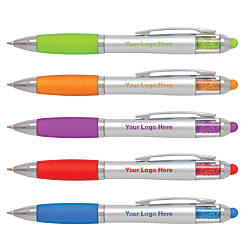 Color Jewel Stylus Pens Medium Point