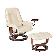 SEI Bay Hill Leather Reclining Chair