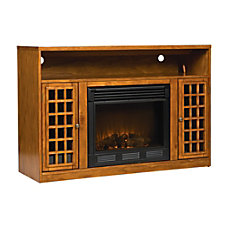 SEI Narita Electric Fireplace Media Console