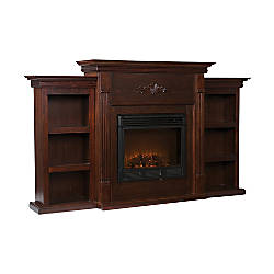 Southern Enterprises Tennyson Electric Fireplace With