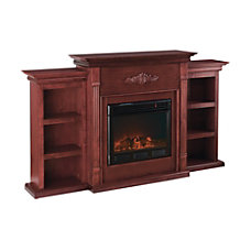 SEI Tennyson Electric Fireplace With Built