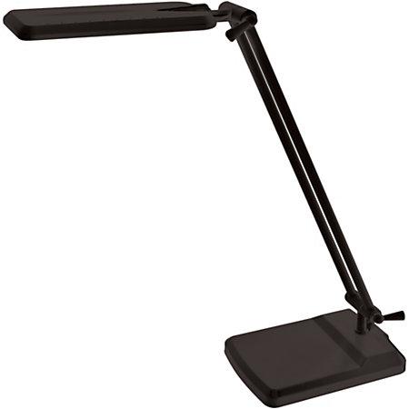 ledu desk lamp black by office depot officemax. Black Bedroom Furniture Sets. Home Design Ideas