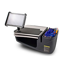 AutoExec GripMaster Car Desk With iPad