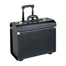 Lorell Oversized Rolling Catalog Case Black