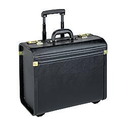 Lorell Oversized Rolling Catalog Case Black