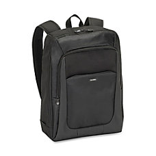 Lorell Lightweight Padded Laptop Backpack Black