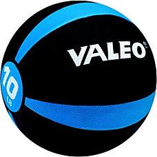 Valeo Medicine Ball 10 Lb BlackBlue
