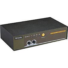 D Link DKVM 4K 4 Port