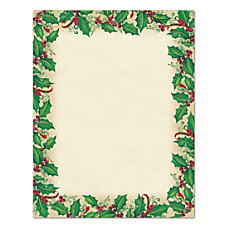 Great Papers Holiday Stationary 8 12
