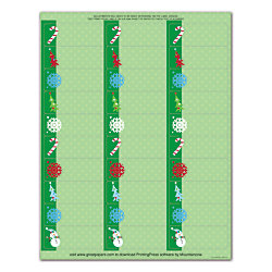greatpapers com templates - great papers holiday address labels 2 58 x 1 cheery