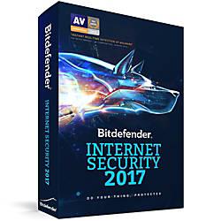 Bitdefender Internet Security 2017 3 Users