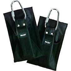 Valeo Nylon Ab Straps Black Pack