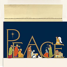 Great Papers Holiday Greeting Cards Peaceful