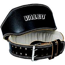 Valeo Padded Leather Lifting Belt 6