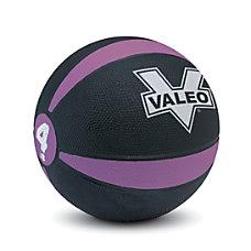 Valeo Medicine Ball 4 Lb BlackPurple