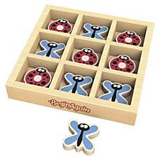 BeginAgain Toys TicBugToe Travel Game Learning