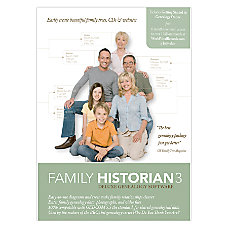 Family Historian 3 Traditional Disc