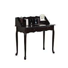 Monarch Specialties Wood Secretary Desk Dark