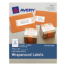 Avery Premium Address Labels Wraparound 1