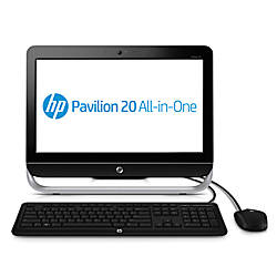 "HP Pavilion 20-b010 All-In-One Computer With 20"" Display & AMD E1 Accelerated Processor"