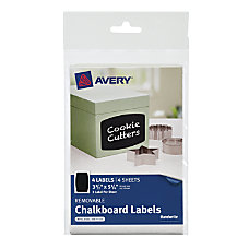 Avery Chalkboard Labels 3 12 x