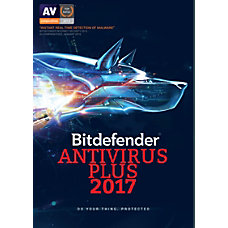 BitDefender Antivirus Plus 2017 For 3