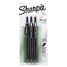 Sharpie Retractable Pens Medium Point 10