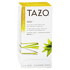 Tazo Zen Tea Box Of 24