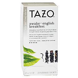 Tazo Awake Tea Bags 8 Oz
