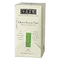 Tazo Green Tips Tea Bags Box